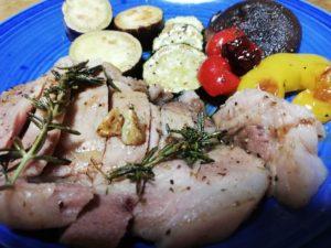 菊池の遊び豚調理しました🐷
