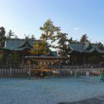 阿蘇神社、阿蘇国造神社(菊池温泉から、一時間)