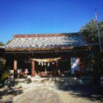 菊池一族を祀った菊池神社の紅葉がきれいです。