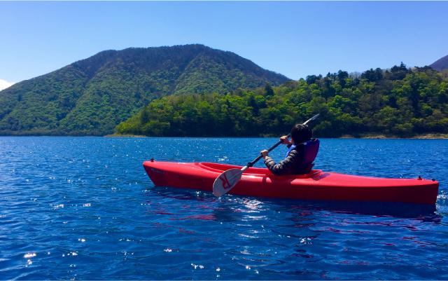 班蛇口湖(竜門ダム) カヌー&カヤック体験