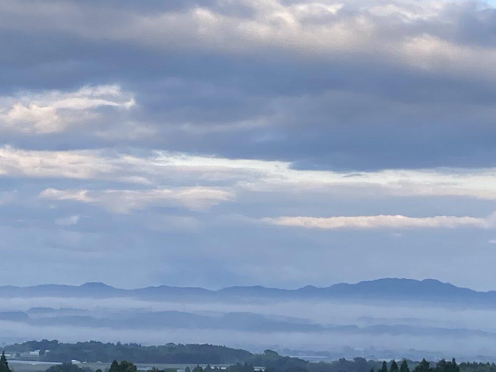 鞠智城からの雲海